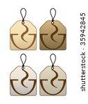 tea stickers | Shutterstock .eps vector #35942845