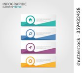 colorful label infographic... | Shutterstock .eps vector #359432438