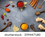 Various Spices Powder Turmeric...