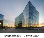 Modern office building in the...