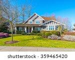 big custom made luxury house... | Shutterstock . vector #359465420