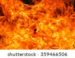 fire flame background | Shutterstock . vector #359466506
