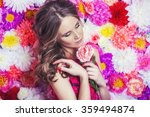 portrait of fashion beautiful... | Shutterstock . vector #359494874