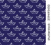 seamless pattern with paper... | Shutterstock .eps vector #359495450