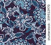 folkloric batik vector ornament.... | Shutterstock .eps vector #359512970