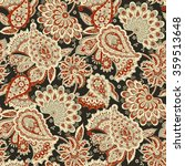 floral seamless pattern with... | Shutterstock .eps vector #359513648