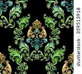 decorative elements in vintage... | Shutterstock . vector #359513918