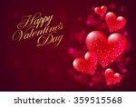 valentine's day background | Shutterstock .eps vector #359515568