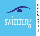 swimming. sport. icon. school. | Shutterstock .eps vector #359516123