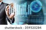 average sales report | Shutterstock . vector #359520284