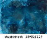 blue watercolor background for... | Shutterstock . vector #359538929