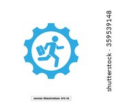 man in gear | Shutterstock .eps vector #359539148