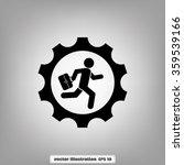man in gear | Shutterstock .eps vector #359539166