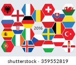 euro football competition team...   Shutterstock .eps vector #359552819