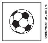 soccer ball icon | Shutterstock .eps vector #359581178