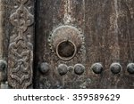 Detail Of A Carving And Brass...