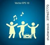 party vector icon | Shutterstock .eps vector #359607770