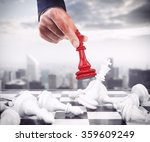 king of chess | Shutterstock . vector #359609249
