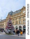 paris  france   december 16 ... | Shutterstock . vector #359625320