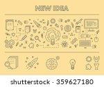 line design concept web banner... | Shutterstock .eps vector #359627180