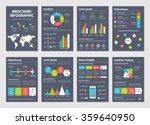modern dark business... | Shutterstock .eps vector #359640950