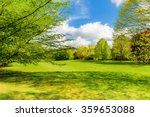 spring landscape with fresh... | Shutterstock . vector #359653088