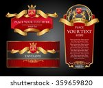 vctor luxury labels | Shutterstock .eps vector #359659820