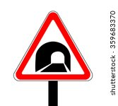 Russia Tunnels Sign Vector