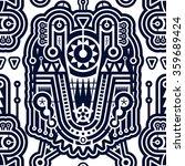 abstract seamless modern art... | Shutterstock .eps vector #359689424