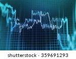 stock market graph and bar... | Shutterstock . vector #359691293