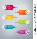 six steps infographics   can... | Shutterstock .eps vector #359709443