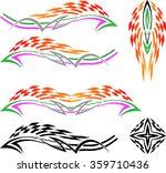 vehicle graphics  stripe  ... | Shutterstock .eps vector #359710436
