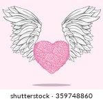 valentine day. created heart...