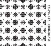vector abstract ethnic seamless ... | Shutterstock .eps vector #359753483