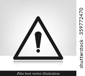 exclamation mark | Shutterstock .eps vector #359772470