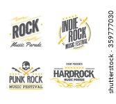 logo music festival | Shutterstock .eps vector #359777030
