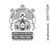 beer festival | Shutterstock .eps vector #359777039