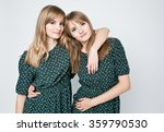 Beautiful Two Twins Sisters...