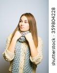 beautiful long haired blond...   Shutterstock . vector #359804228