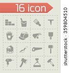 vector construction icon set | Shutterstock .eps vector #359804510