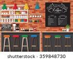 Modern Flat Design Coffee Shop...