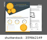 corporate business flyer for... | Shutterstock .eps vector #359862149