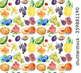 colorful watercolor background.... | Shutterstock . vector #359881190