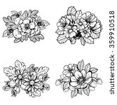 flower set | Shutterstock . vector #359910518