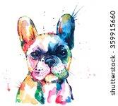 French Bulldog. Original...