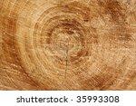 cut down tree trunk horizontal | Shutterstock . vector #35993308