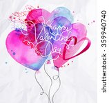 valentine's day greeting card... | Shutterstock .eps vector #359940740