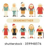 vector set of characters in a... | Shutterstock .eps vector #359948576