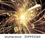 trails of technology series.... | Shutterstock . vector #359955260