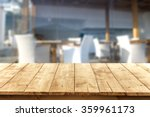 blurred background of beach bar ... | Shutterstock . vector #359961173